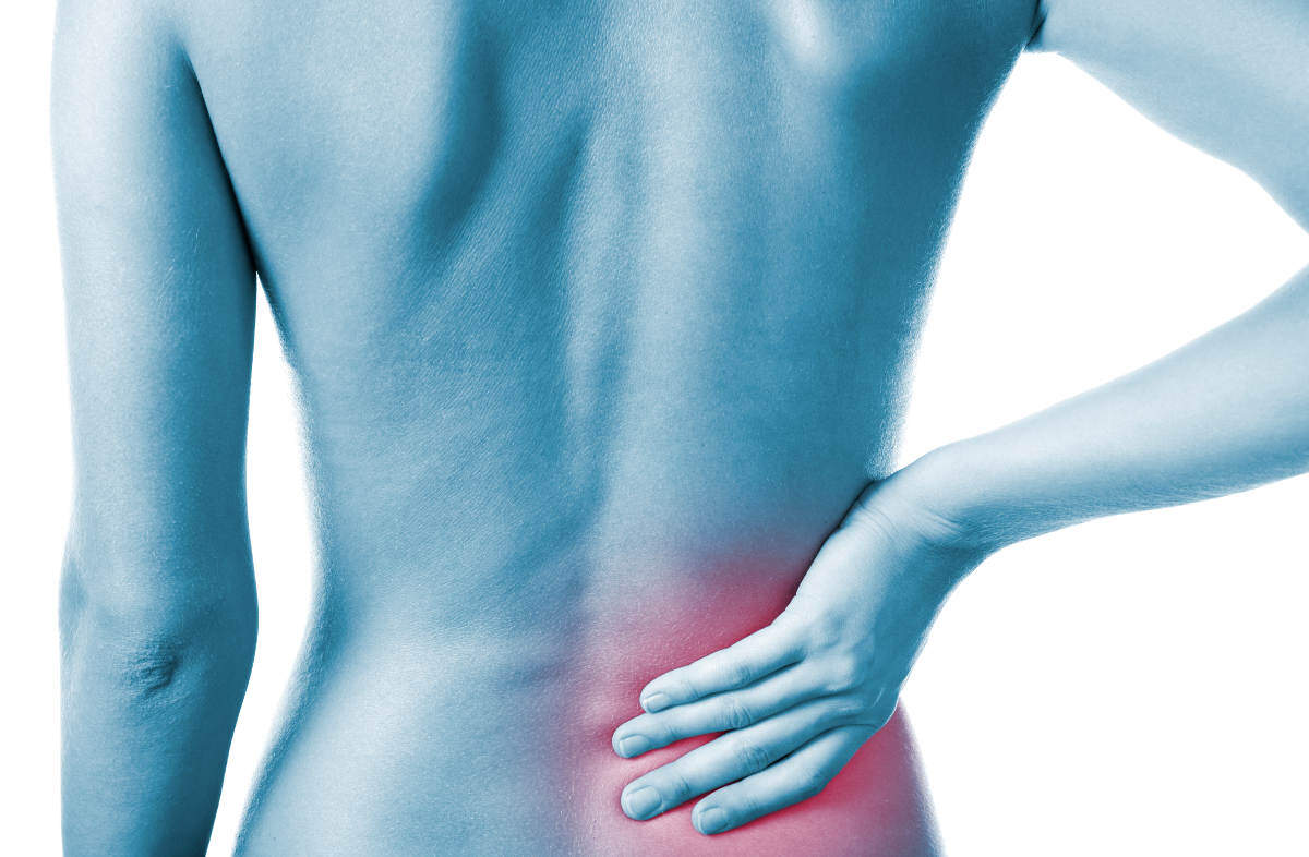 Single side lower back pain